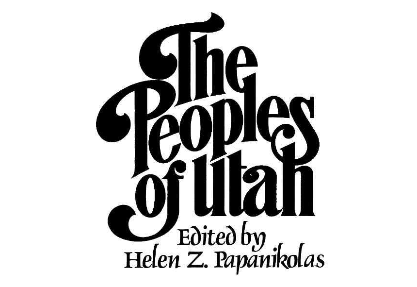 The Peoples of Utah Cover Page
